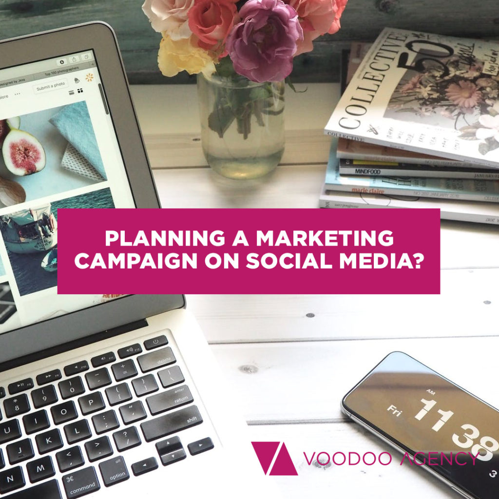 Marketing campaign planning for social media by Voodoo Agency